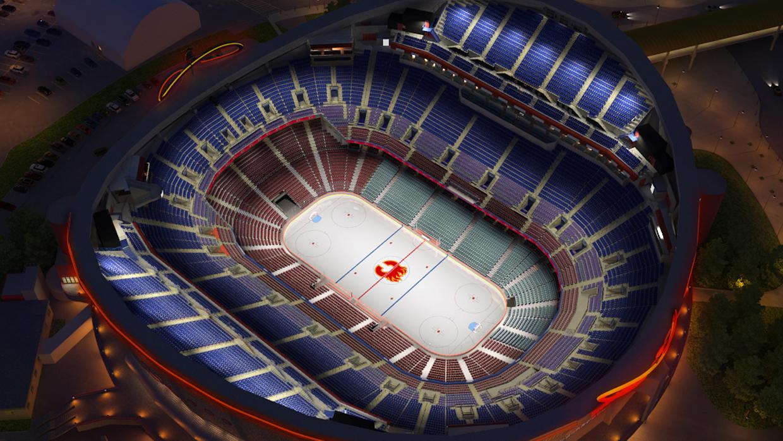 Calgary Flames Virtual Venue By Iomedia